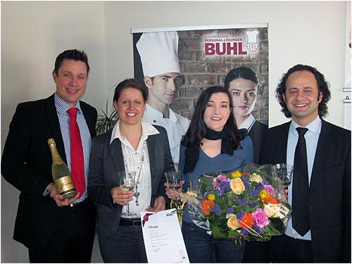 Philipp Stump, Carmen Unger, Nelya Cheban und Eren Barlik