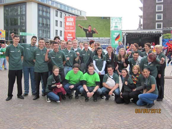 BUHL Personal Public Viewing KIA-Arena Recklinghausen