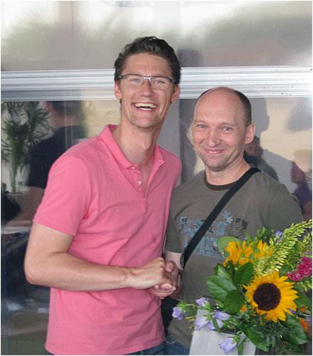 Holger Kraatz und Vaclav Spanek