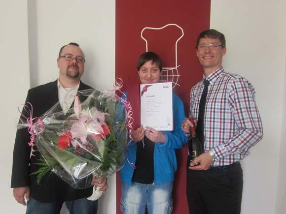Herr Jörg Pellowski und Frau Sabine Stodtmeister – jeweils 5 Jahre BUHL in Berlin