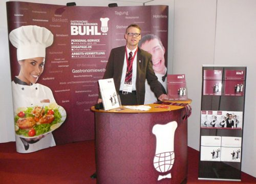 BUHL Personal Messestand