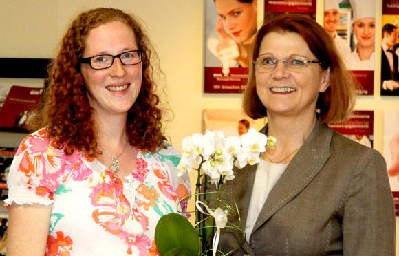 Sonja Rupp und Charlotte Buhl