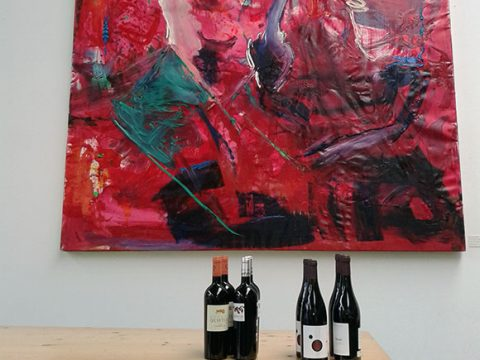 Wein und Gemälde
