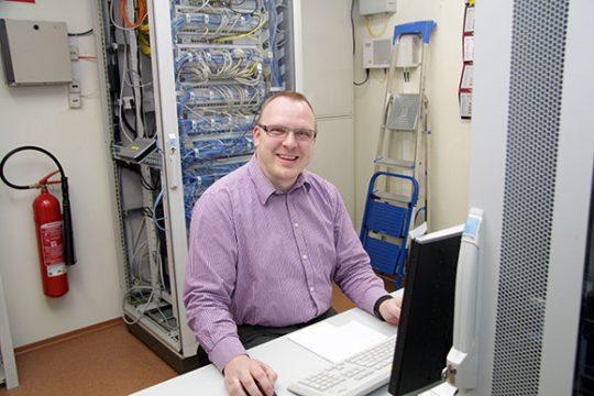 Andreas Pötzsch, der Techniker