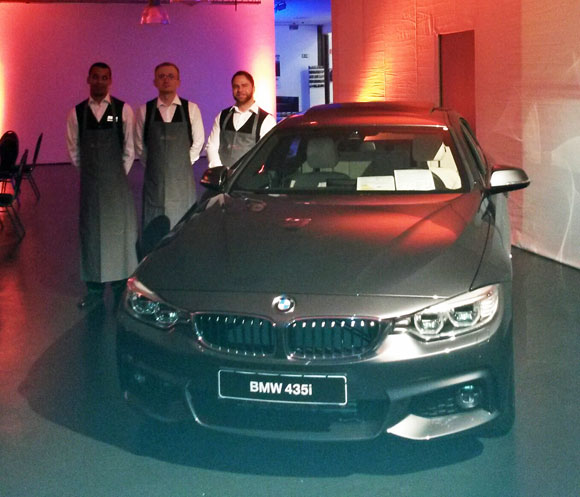 BMW Ausstellung