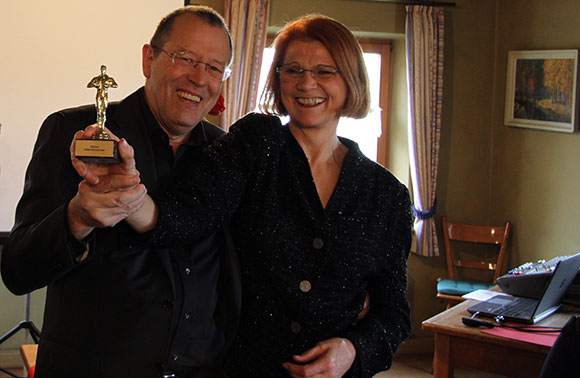 Oscar bestes Unternehmerpaar Charlotte und Hermann Buhl