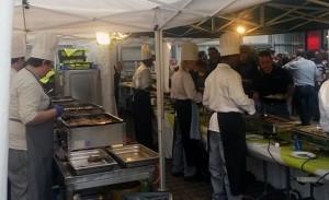 Köche in Küche