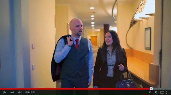 Unsere Mitarbeiter machen auch als Hotelgäste eine richtig gute Figur