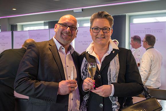 BUHL-Regionalleiterin Ronja Uhrmacher und Niederlassungsleiter Bernd Wendemuth freuen sich bereits auf die GourmeDo 2016