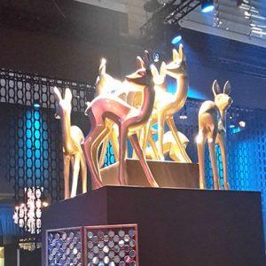 Das Bambi verbreitete goldenen Glanz in der Bundeshauptstadt.