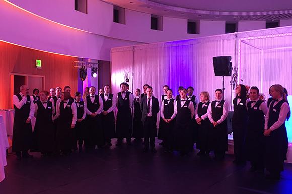 38 BUHL-Servicekräfte und 2 Teamleiter sorgten für den perfekten Service im Ulmer Congress Centrum.