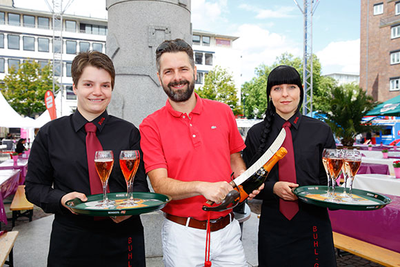 Marcus Besler und das Dortmunder Service-Team freuen sich schon