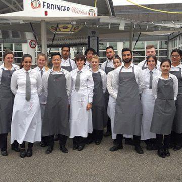18 BUHL-Mitarbeiter unterstützten das große Sommerfest der EVM Ag in Koblenz