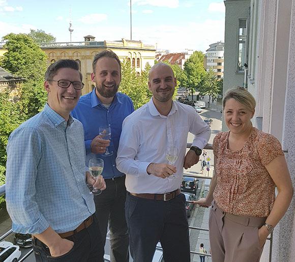Holger Kraatz und sein Team aus Berlin Mitte