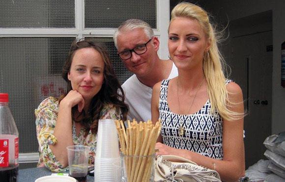 Jasmina Hubijar, Boris Kolosch und Ines Kampmann