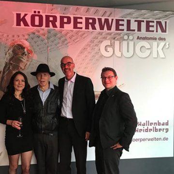Unsere Mitarbeiter sind wieder mit dabei: Wir freuen uns und sind stolz darauf, dass wir mit unserem Team auch in Heidelberg zum großen Erfolg der Körperwelten beitragen dürfen