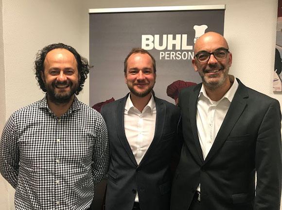 Eren Barlik, Mario Sander und Matthias Recknagel