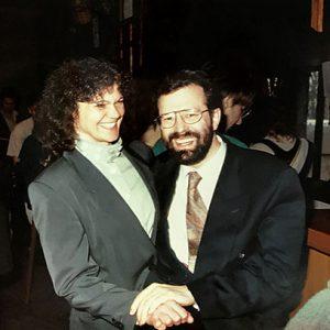 Hermann und Charlotte Buhl 1992 in der Augsburger Kongreßhalle