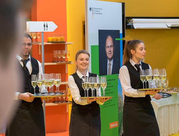 BUHL Mitarbeiter unterstützen Messe-Eröffnung des Bundesministeriums für Ernährung und Landwirtschaft auf der Grünen Woche in Berlin