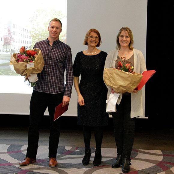 Charlotte Buhl, Martina Mairshofer und Geoffrey Goldsworthy