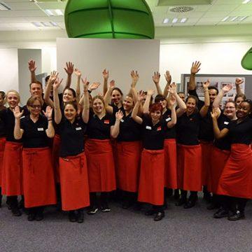 Unser Team aus Kiel trug tatkräftig zum Gelingen der Jahresauftaktveranstaltung in Büdelsdorf bei