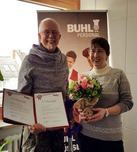 10 Jahre BUHL Dietmar Wirtz und Petra Eckel