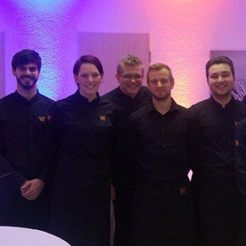 Unser Team aus Koblenz bei der feierlichen Preisverleihung im Forum Polch