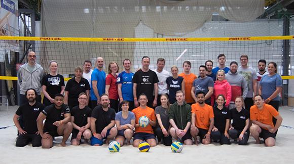 Sechs Mannschaften fanden sich für den BUHL-Cup 2018 im Düsseldorfer Alma Sportzentrum zusammen