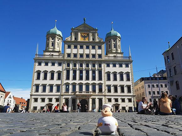 Bert am Rathaus