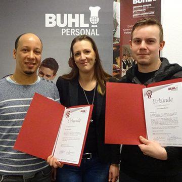5 Jahre BUHL - Adel Gasmi und Tobias Menkel