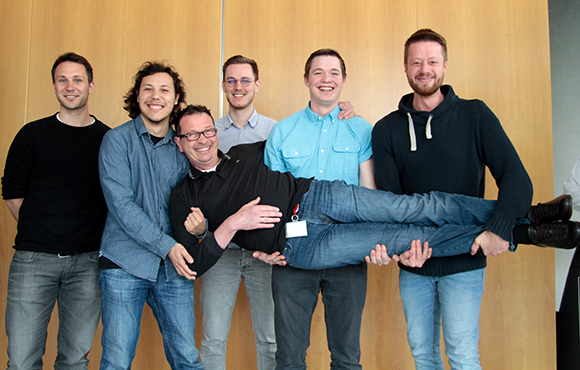 Dorian Heidel, Moritz Schönauer, Heiner Anwander, Fabian Bühler, Martin Gutmair, Dominik Liebert