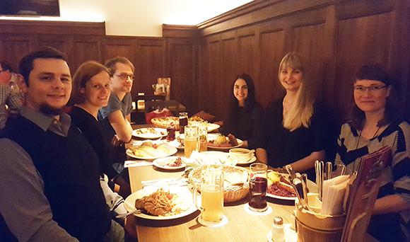 Abendessen im König von Flandern