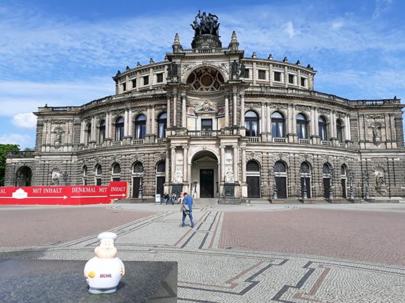Bert in Dresden