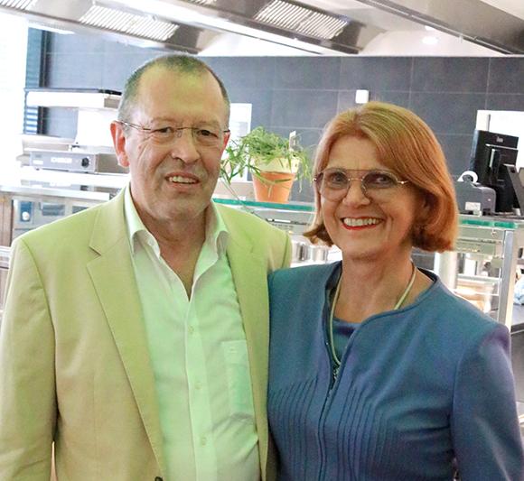 Das neu eröffnete Restaurant im Buhl Business Center ist eine der genialen Ideen des Hermann Buhl.