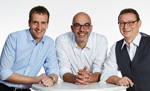 Georg Graf, Matthias Recknagel und Ulf Lampke