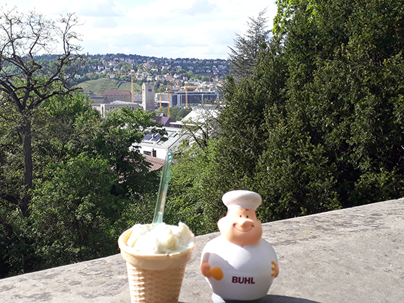 Bert in Stuttgart