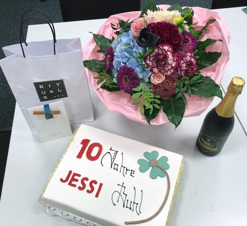 Torte: 10 Jahre Jessi - BUHL