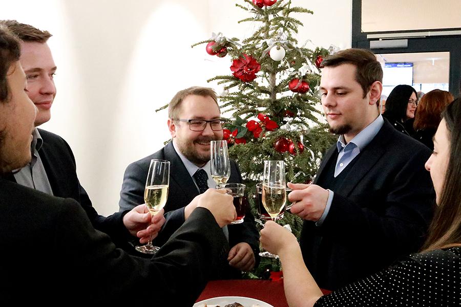 BUHL Mitarbeiter Weihnachtsfeier