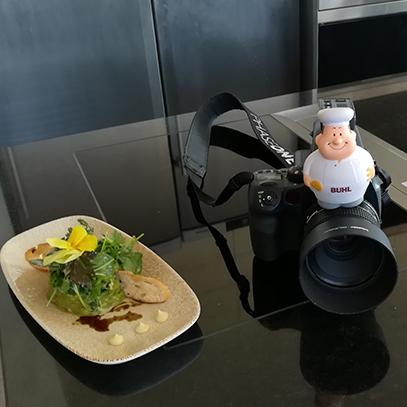 Bert auf Kamera