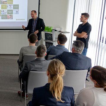 Die Kooperation mit der BARMER bietet ein facettenreiches Programm für Arbeitgeber.