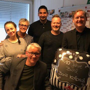 """""""10 Jahre BUHL"""" gab es für Boris Kolosch in Düsseldorf zu feiern!"""