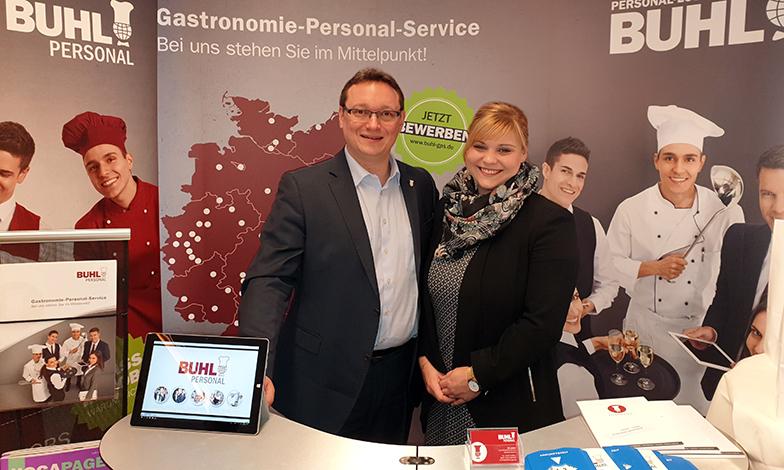 Beim FIT an der Hotelfachschule Heidelberg darf BUHL als Top-Arbeitgeber aus der gastronomischen Branche nicht fehlen.