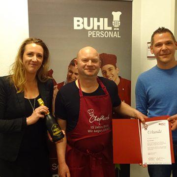 Seit 15 Jahren arbeitet Olaf Kabus aus Essen bei BUHL.