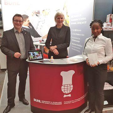 Rund 1.300 Aussteller aus 25 Nationen präsentierten ihre Produkte, Trends und Innovationen, auch BUHL war dabei.