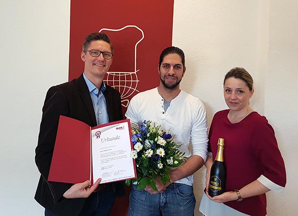 10 Jahre bei BUHL: Andrej Fischer aus Berlin