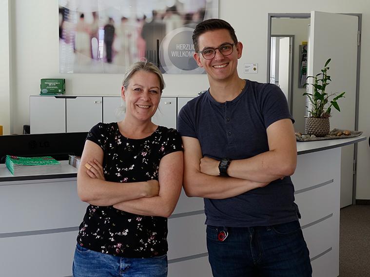 Herr Michael Seitler ist unser neuer Vertrauensmitarbeiter. Frau Angela Schulz ist seine Stellvertreterin.