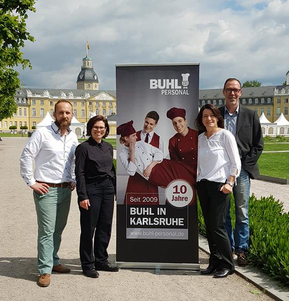 Wir gratulieren unserem Team in Karlsruhe zum 10-jährigen Jubiläum.