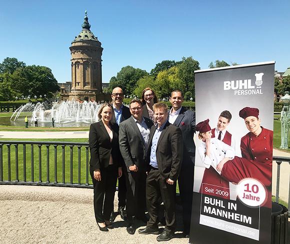 Seit 10 Jahren ist BUHL nun auch in Mannheim vertreten.