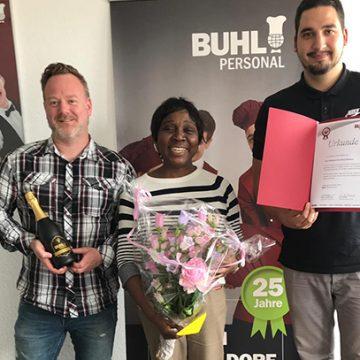 Gratulation zum 5-jährigen BUHL-Jubiläum in Düsseldorf.