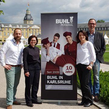 Seit 10 Jahren ist BUHL auch in Karlsruhe vertreten.
